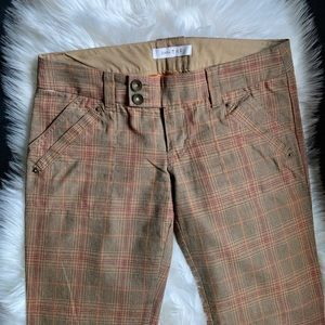Zara trendy plaid pants